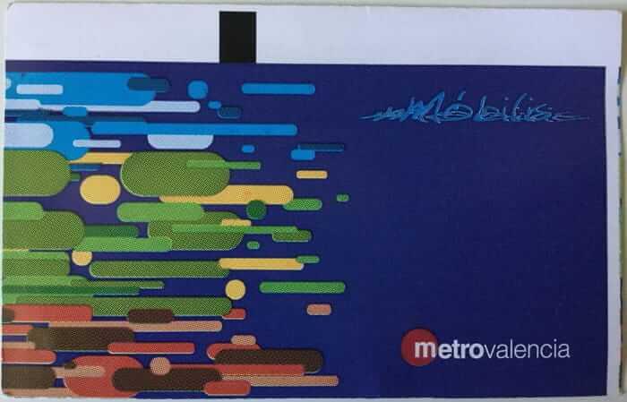 Metrovalencia Tuin card